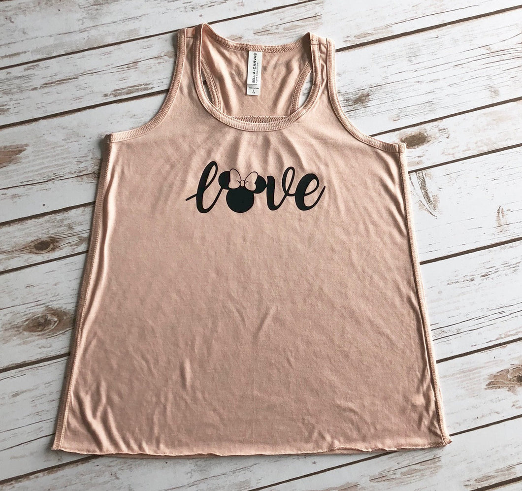 Minnie Mouse Shirt, Disney Shirts, Disney Shirt for Girls, Disney Shirt for Kids, Disney Shirts for Family, Disney Vacation, Disney Tank Top