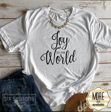 Load image into Gallery viewer, Joy To The World Tee