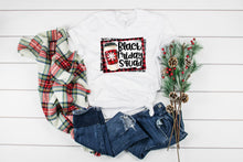 Load image into Gallery viewer, Buffalo Plaid Black Friday Squad Tee