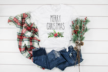 Load image into Gallery viewer, Rea Dunn Inspired Merry Christmas Tee