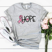 Load image into Gallery viewer, Pink Ribbon Hope Tee