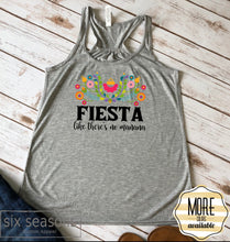 Load image into Gallery viewer, Fiesta Like Theres No Mañana Tee and Tank