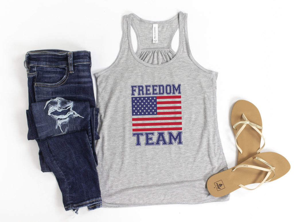 Freedom Team Tee and Tank