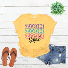Load image into Gallery viewer, Stacked Zoom School Tee