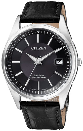 Citizen Radio Control m sort rem stål 39 mm.