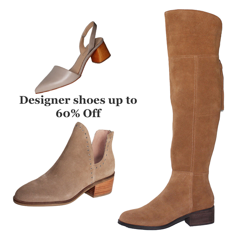 Designer shoes up to 60% Off