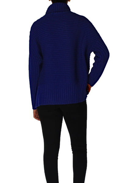 TURTLENECK DOLMAN SLEEVE SWEATER