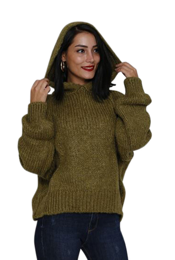 Olive  sweater, Hoodie