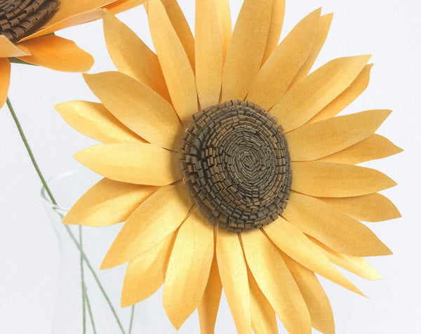 Paper Sunflower Template