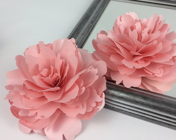 paper peony template