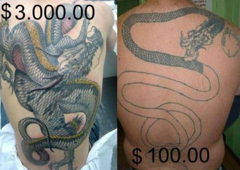 cheap tattoo versus expensive tattoo