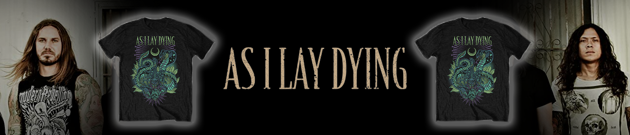 As I Lay Dying T-Shirts