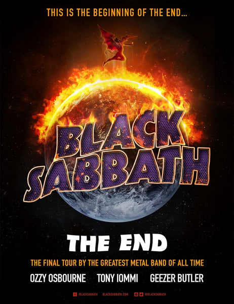 Black Sabbath Auckland NZ The End Tour 2016