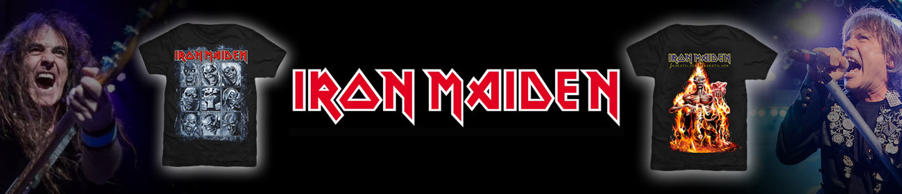 Iron Maiden T-Shirts and Band Merch