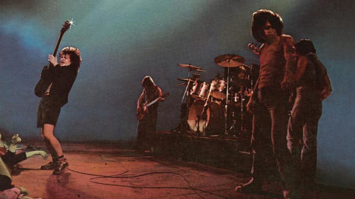 Let There Be Rock Album Cover 1977