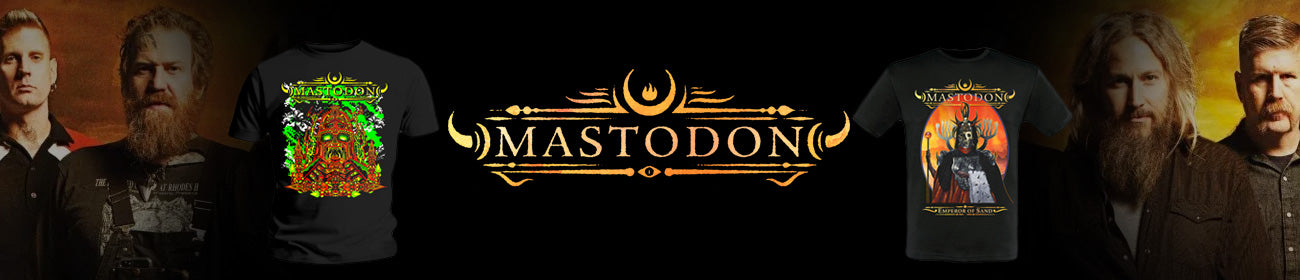 Mastodon Band T-Shirts For Sale