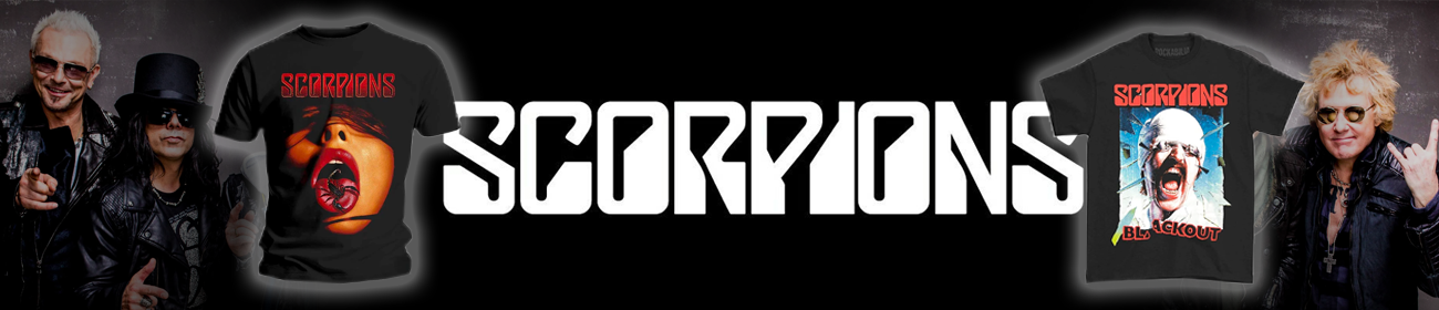 Scorpions Band T-Shirts for Sale NZ