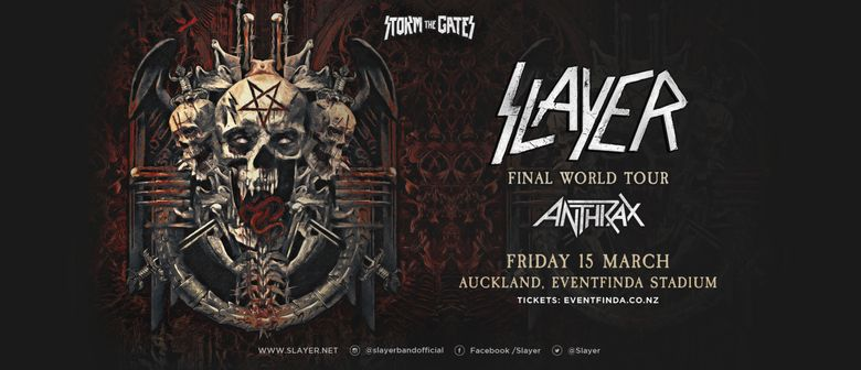 Slayer Live in New Zealand