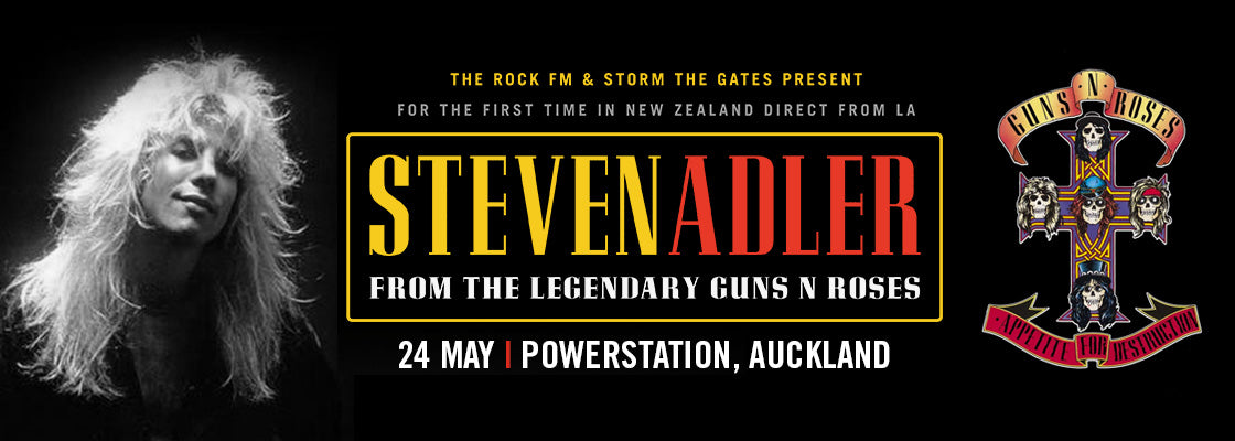 Steve Adler Live in Auckland May 2018