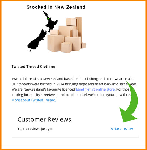 Twisted Thread Leaving Product Reviews