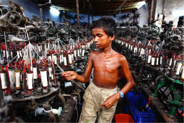 child slave labour