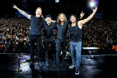 Metallica live in New Zealand