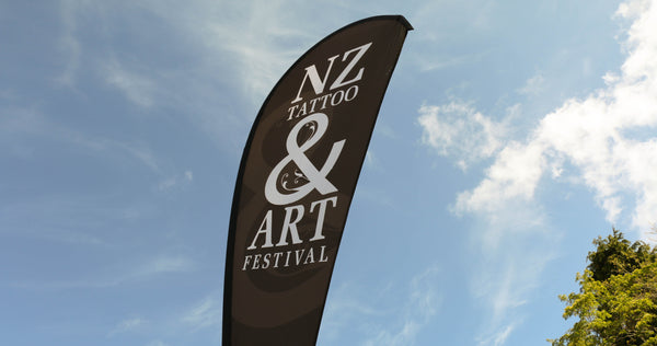 NZ Tattoo and Arts Festival Banner