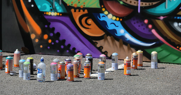 Graffiti  Spray Cans