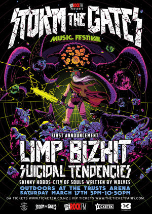 Storm The Gates Festival Poster
