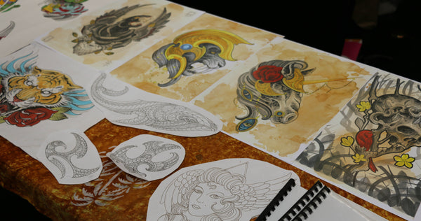 Tattoo Prints at New Plymouth
