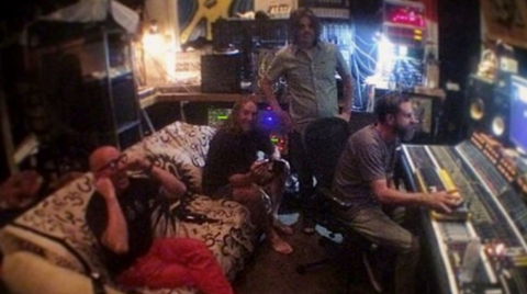 Tool in the recording studio for 2019 album release