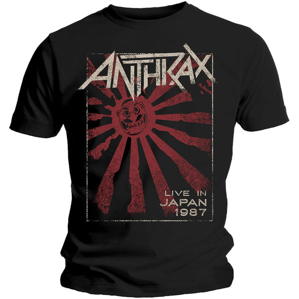 Anthrax T-Shirt Live in Japan