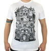 This House Is Haunted - White Short Sleeve Tee - Twisted Thread Clothing