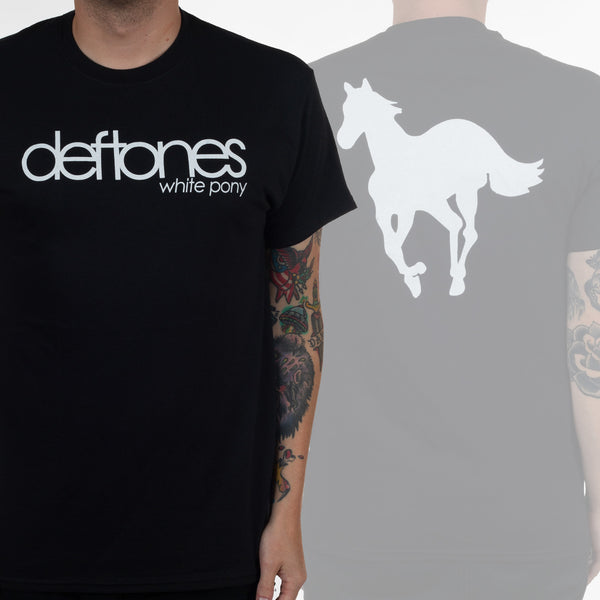 Deftones - White Pony - Mens T-Shirt (w/ Back Design)