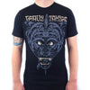 Hunger - Wolf - Black Short Sleeve Tee - Twisted Thread Clothing