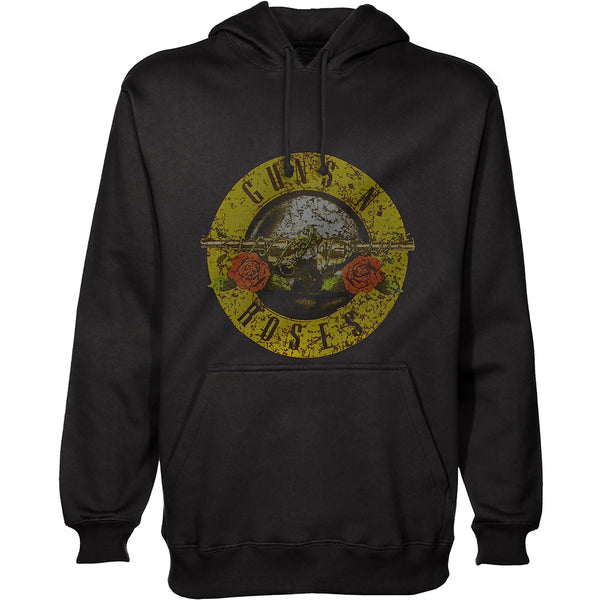 GNR Classic Bullet Logo - (Distressed Edition) - Adult Hoodie - Twisted Thread Clothing