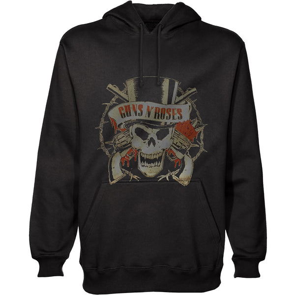 GNR Skull - (Distressed Edition) - Adult Hoodie - Twisted Thread Clothing