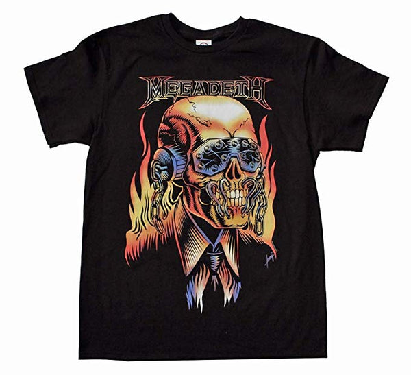 Megadeth - Vic Rattlehead - Mens T-Shirt - Twisted Thread Clothing