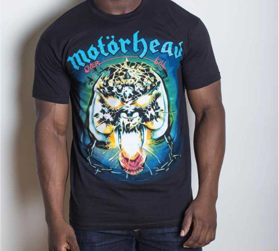 Motorhead - Overkill - Mens T-Shirt - Twisted Thread Clothing
