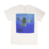 Nevermind - Male - White T-Shirt (w Back Print) - Twisted Thread Clothing