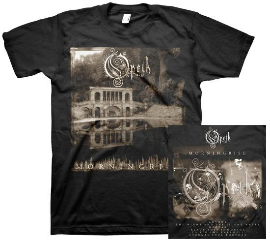 Opeth - Morning Rise - Male T-Shirt (W/Back Print)