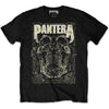 Pantera - 101 Proof Skull - Black T-Shirt