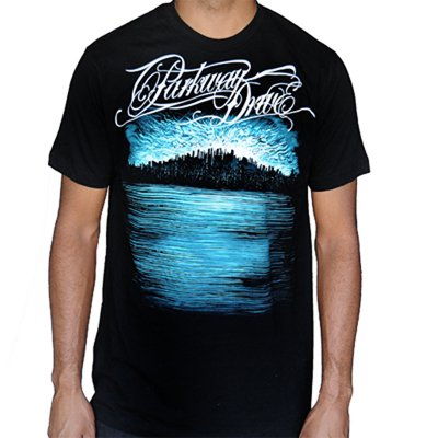 Parkway Drive - Deep Blue Skyline (Slim Fit) T-Shirt - Twisted Thread Clothing