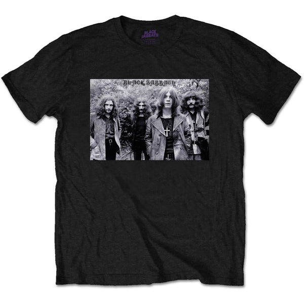 Black Sabbath Group Shot Mens T-Shirt