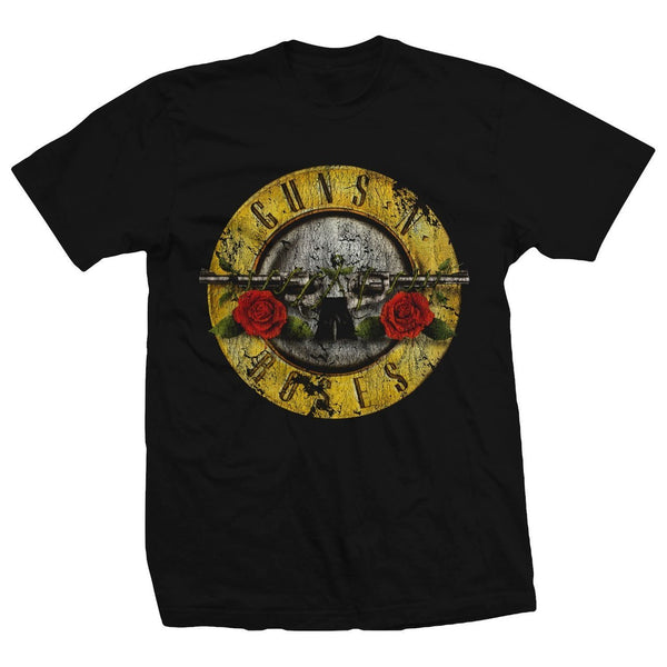 GNR Classic Bullet Logo - (Distressed Edition) - Adult T-Shirt
