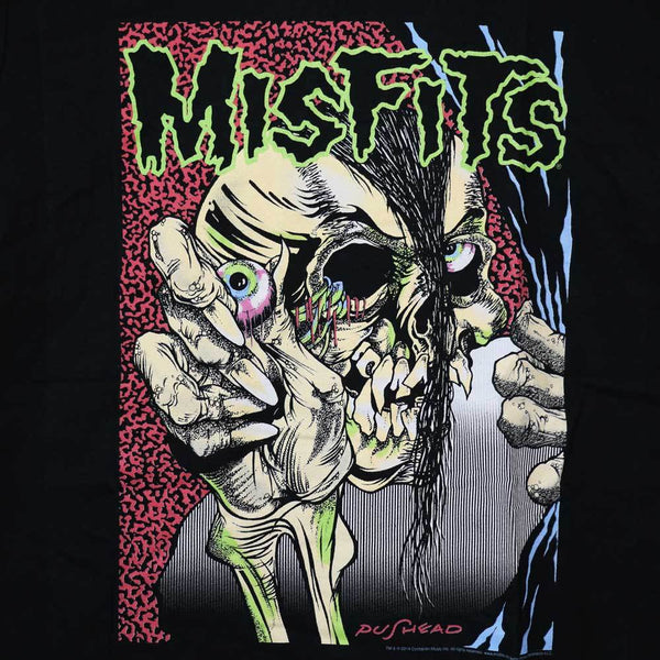 Misfits - Pushead - Male - T-Shirt - Twisted Thread Clothing
