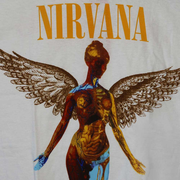 Nirvana - In Utero - White Male T-Shirt - Twisted Thread Clothing