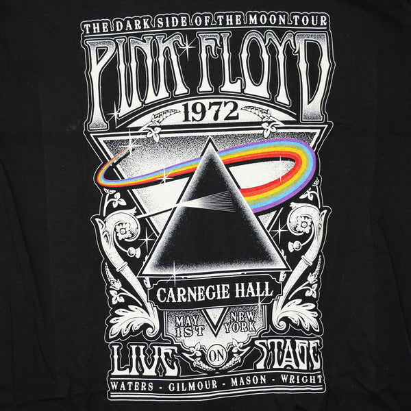 Pink Floyd - Carnegie Hall - Mens Black T-Shirt - Twisted Thread Clothing