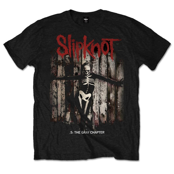 Slipknot - 5 The Gray Chapter - Mens T-Shirt - Twisted Thread Clothing