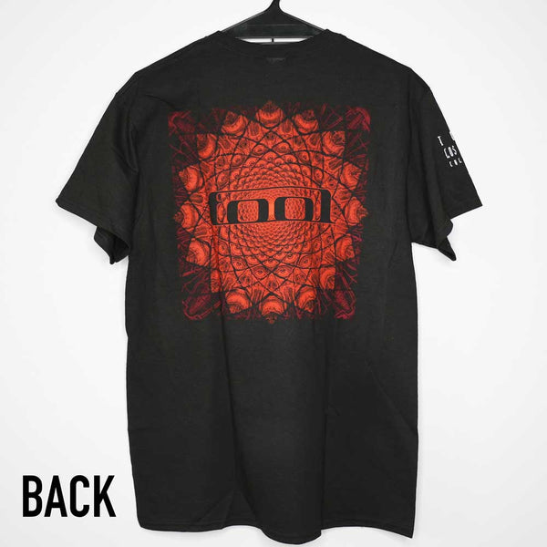 Tool - Red Pattern - Mens T-Shirt - Twisted Thread Clothing
